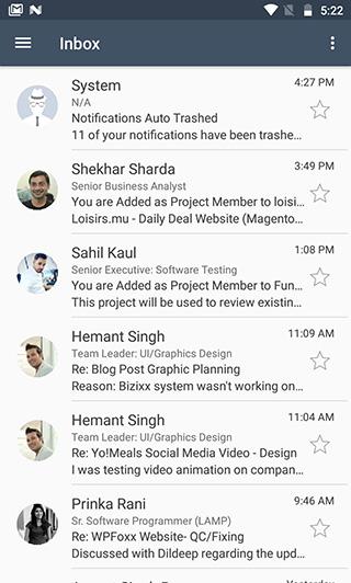 Bizixx android App
