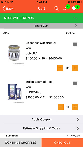 launch IOS grocery app