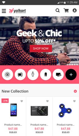 Yo!Kart buyer app