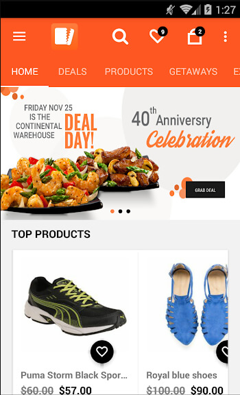 YoDeals android app