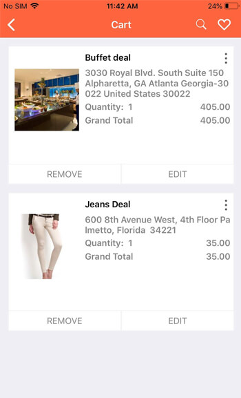 launch IOS online deals marketplace app