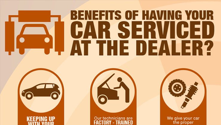 Car Service Dealer- Infographic
