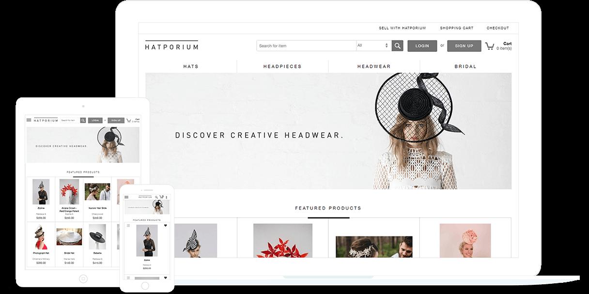 Ecommerce Marketplace Designed by FATbit