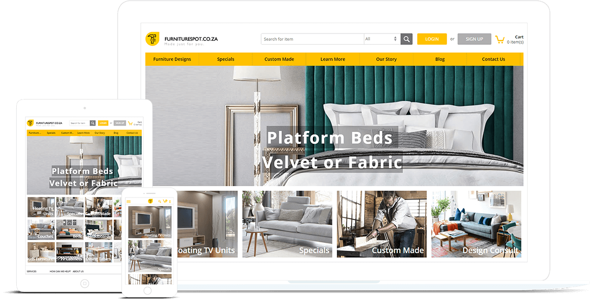 Ecommerce Store Designed by FATbit