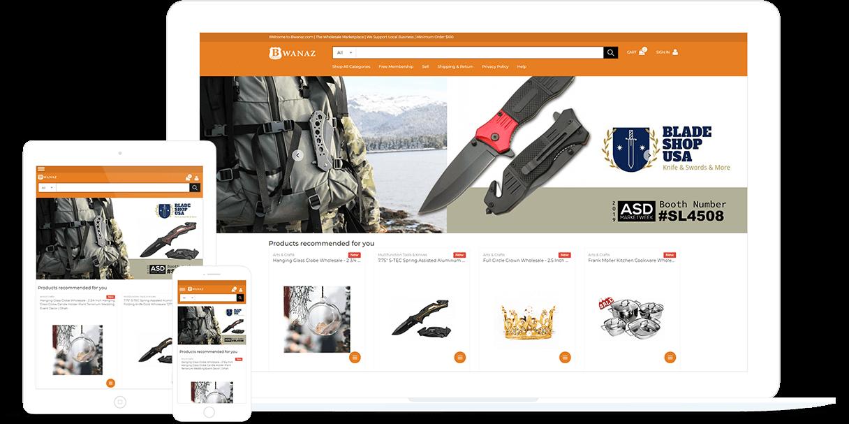 Ecommerce Website Design Work