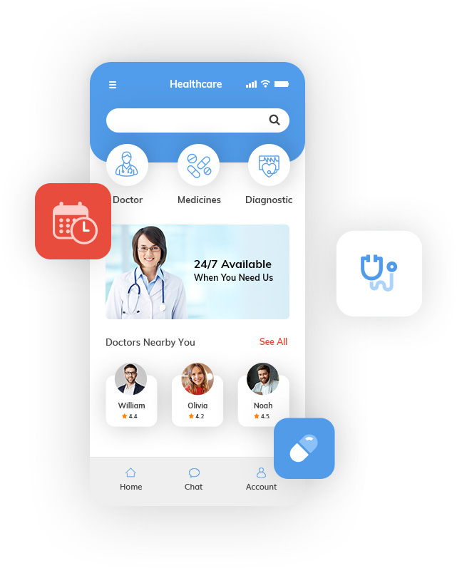 Healthcare and Fitness Mobile App Development Company