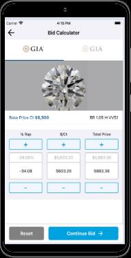 UNI diamonds retailer app android 1