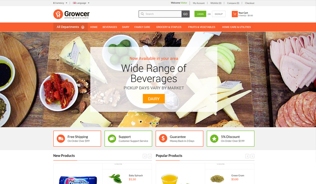Online Grocery Store Solution
