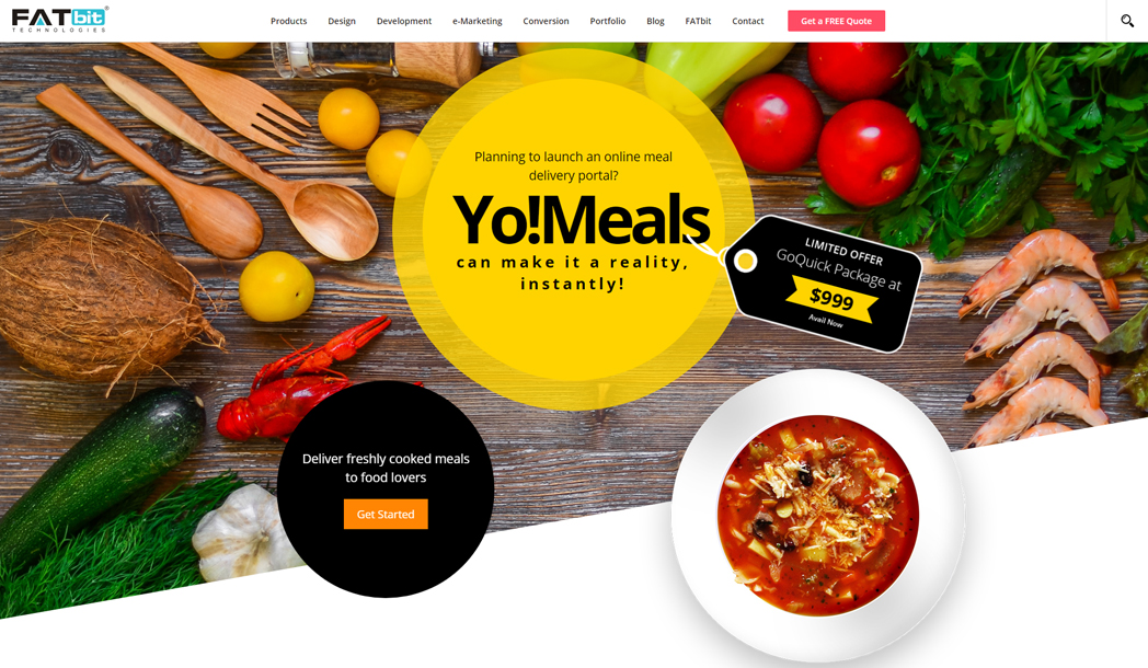 Online Meal Delivery Business Solution