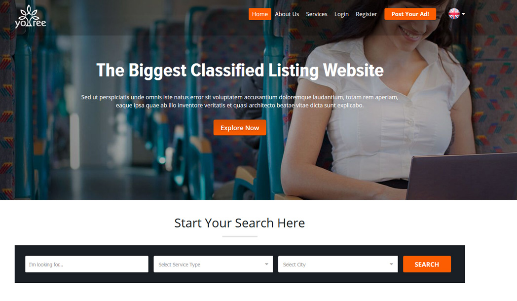 Classified Ad Website Software