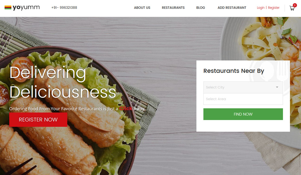 Food Ordering Marketplace Solution