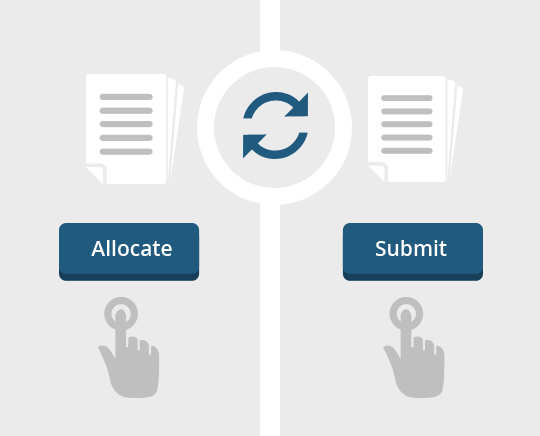 Easy Allocation & Submission feature in Campus ERP