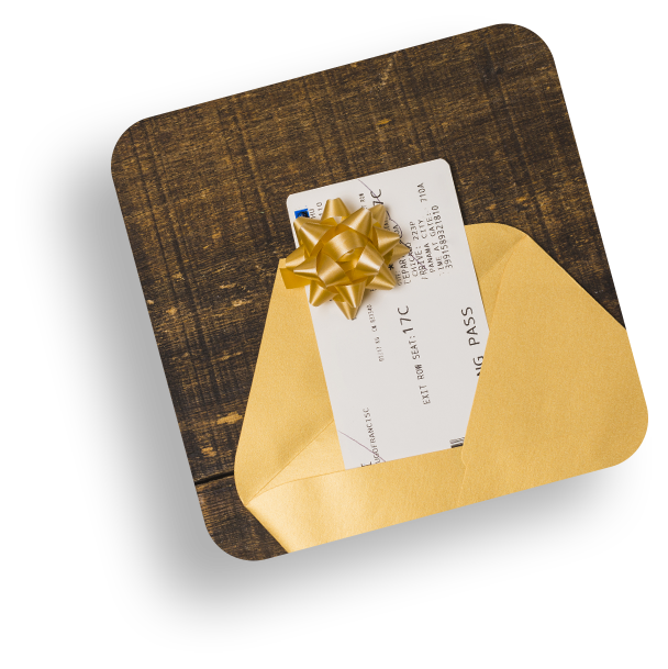 gift cards feature