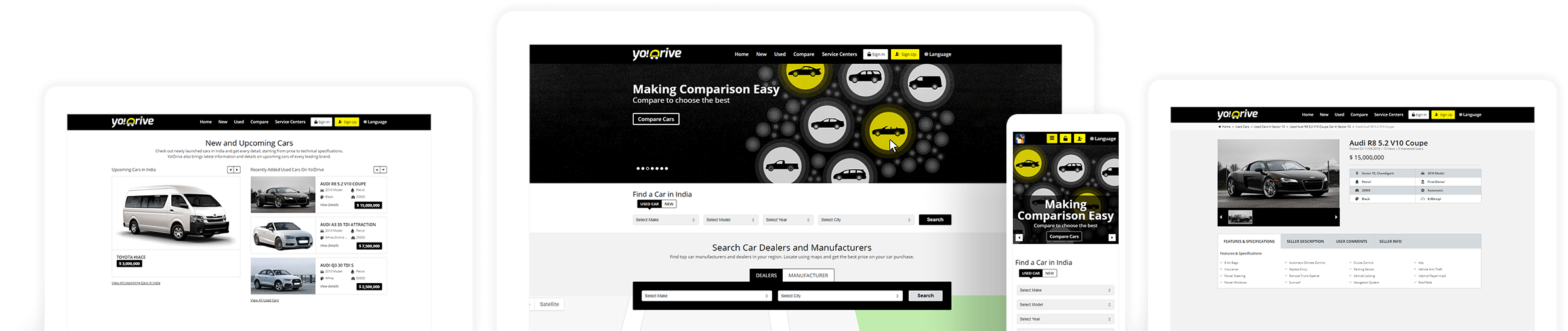 Yo!Drive Car Marketplace Software
