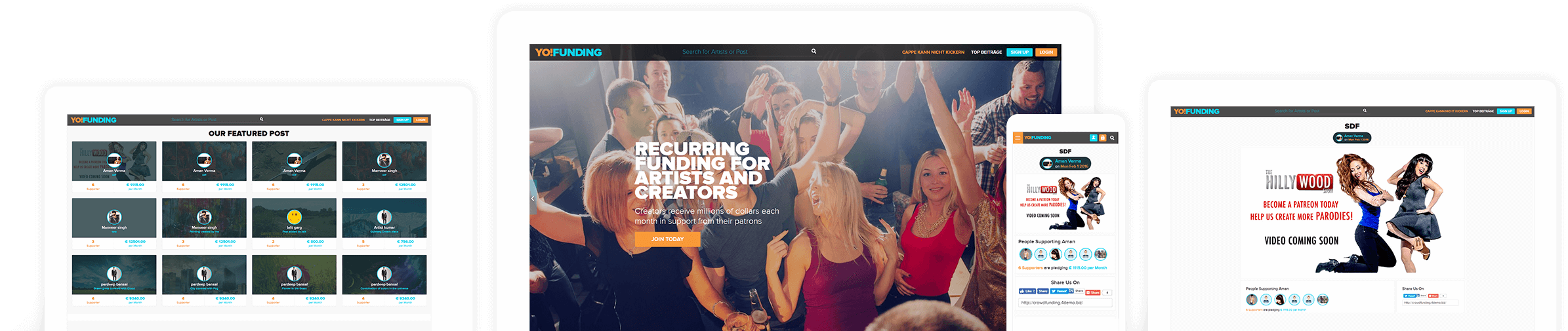 online crowdfunding portal